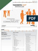 TANDBERG MXP Administrator Guide (F9)
