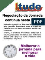 Circular Garoto Acordo Coletivo 2011/2013 - Jornada de Trabalho