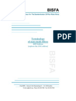 BISFA_Terminology2009