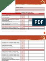 Escala de Evaluacion Unidad 1