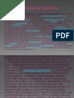 La organizaci+¦n pol+¡tica
