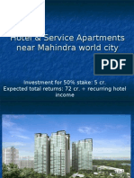 Hotel & Service Apartments near Mahindra world city SEZ Jaipur