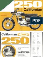 Brochure-Jawa Californian 250 Type 590