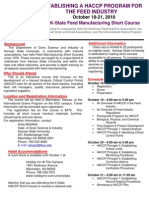 HACCP Brochure