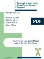 Fine Tuning Your Logic Model _1