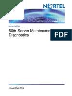 600r Server Maintenance and Diagnostics