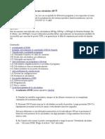 Procedimientos y Soluciones en Una Calculadora HP