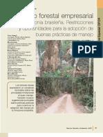 Manejo forestal empresarial en la amazonia brasileña Restricciones y portunidades