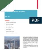 2011 Kenya Budget Newsletter