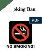 Smoking Ban(correct)