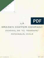 El Teniente (Braden) 1942 Pamphlet