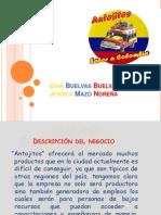 diapositivas Antojitos
