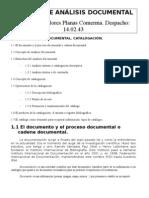 APUNTES DE ANÁLISIS DOCUMENTAL