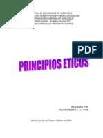 ANALISIS DE LOS PRINCIPIOS ETICOS RELACIONADOS CON LA SOLIDARIDAD