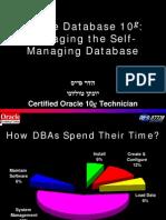 Oracle Database 10G - Dba