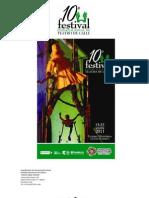 Programa Festival Internacional de Teatro Calle Zacatecas 2011