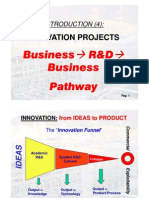 Introduction 4 Business to R&D to Business Pathway