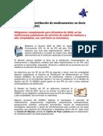 El Sistema de Distribucion de Medicamentos en Dosis Unitarias