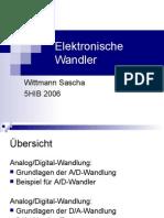 Wittmann-EDT-Elektronische Wandler