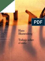 Blumemberg Hans - Trabajo Sobre El Mito