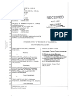 Amended Cross Complaint