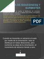 Teoria de Boussinesq y Burmister