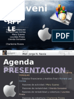 Analisis Financiero de Apple