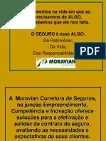 Apresentação Moravian Seguros - JMC