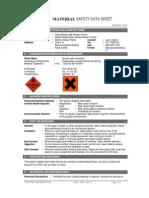PAINT MASTER WB PLASTER PRIMER - SDS