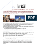 11-10-11 Corruption of the Courts and Banking Regulation - Origins and Proposed Corrective Measures