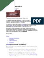 Ventilación y procesamineto