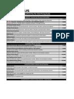 Locate Plus Pricing Guide 8-2011