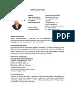 Curriculum Vitae Alejandra Zavaleta G.