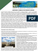 REVITALIZAÇÃO X TRANSPOSIÇÃO - O DILEMA DO SÃO FRANCISCO CONTINUA