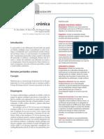08.101 Pericarditis crónica
