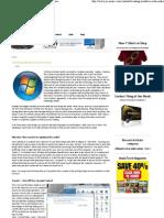 Tweaking Windows Vista for Audio PC Music Guru