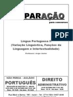 Portugues TJ aula II variação, funções e intertextualidade