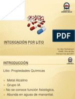 Intoxicación por Litio-Int. Teichelmann