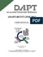 ADAPT-Revit Link 2012 User Manual