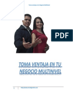 Toma Ventaja en Tu Negocio Multinivel
