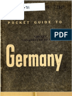 Pocket Guide to Germany