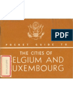 Pocket Guide To The Cities Of Belgium And Luxembourg