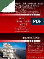 02. Demolición y Muros