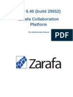 Zarafa Collaboration Platform 6.40.0 Administrator Manual en US