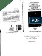 """Zemelman,Hugo.""""Problemas Antropologicos y Utopicos Del Conocimiento"""""""