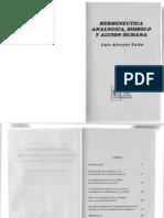 Hermeneutica Analogica Simbolo y Accion Humana[Luis Alvarez Colin