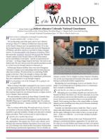 Colorado Voice of the Warrior - Oct 2011