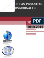 Manual de las Pasantías Internacionales CPRII FELSOCEM