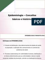 Epidemiologia - Aula 1