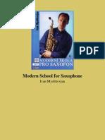 Modern School for Saxophone